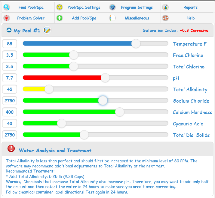 Perfect Pool and Spa Pool Care Software!
